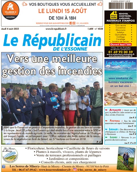 Edition de la semaine