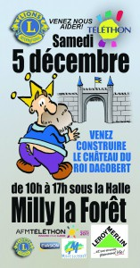 Venez construire le Château du Ro Dagobert !
