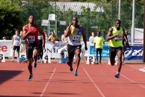 Athlétisme Ronald Pognon