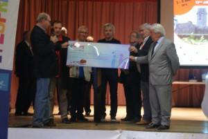 Au total, les groupes ADPS remettront 10 000 euros à l'association.