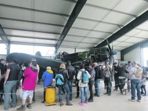 Durant toute la matinée, le public a pu échanger avec les mécaniciens, les pilotes et réaliser leurs baptêmes de l'air. L'après-midi, place aux démonstrations !