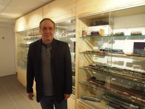 Jacques Peuziat, président de l'association.