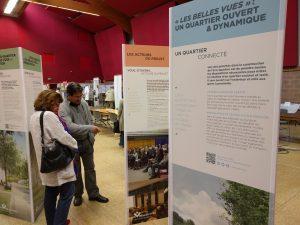 Les visiteurs ont également pu découvrir une présentation du futur éco-quartier des Belles vues.