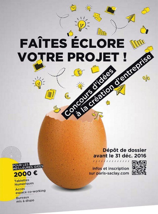 Paris saclay un concours d 39 id e pour cr er votre for Idees creation entreprise 2016