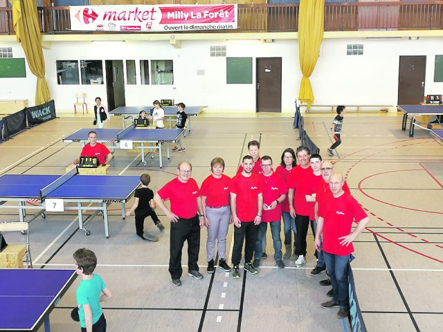 Essonne premier succ s pour le challenge des coles primaires de la cc2v - Club de tennis de table paris ...