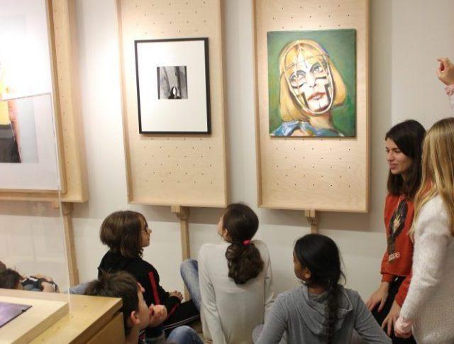 Musée mobile MuMo 2 enfants art contemporain zone rural france