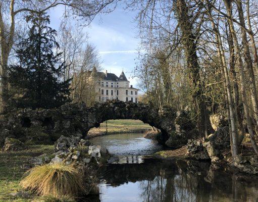 domaine départemental méréville jardin remarquable label pont artificiel entretien