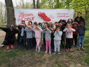 parcours du coeur maternelle la norville bois de la garenne sport prévention santé
