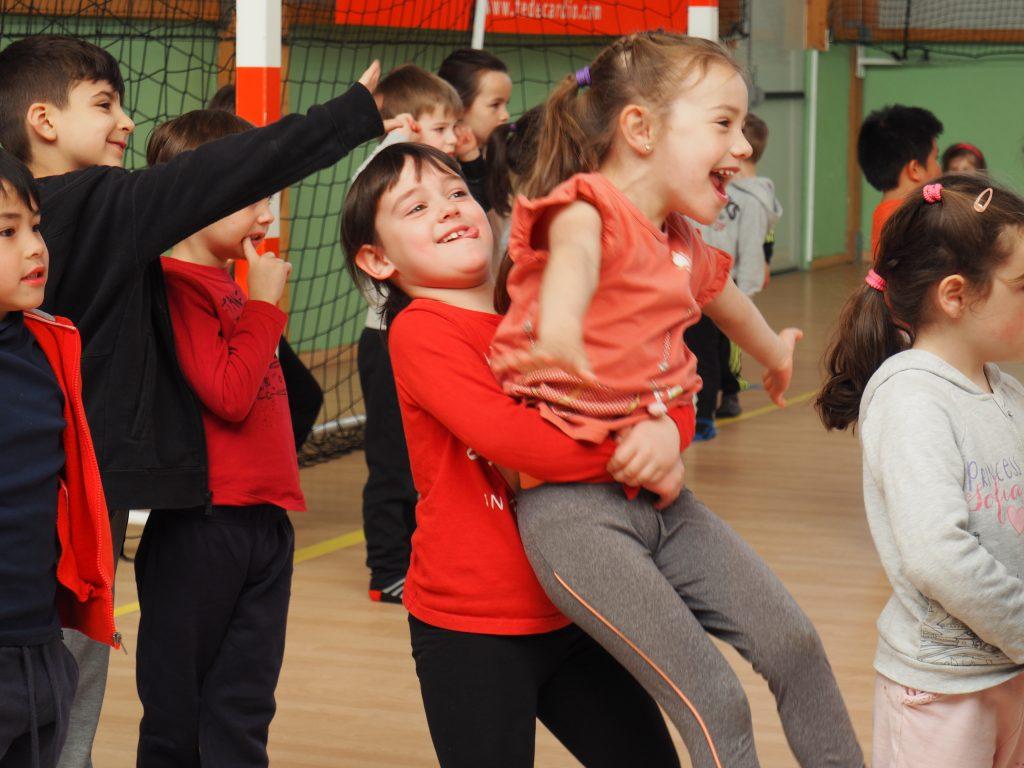 parcours du coeur maternelle la norville gymnase sport prévention santé