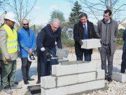 première pierre logements locatifs sociaux terres rouges moigny-sur-école