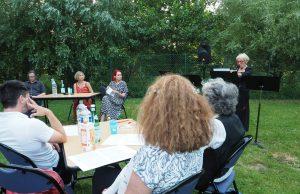 rencontre auteur valentine goby médiathèque service culturel breuillet moulin des muses rue de la gare plein air livre théâtre