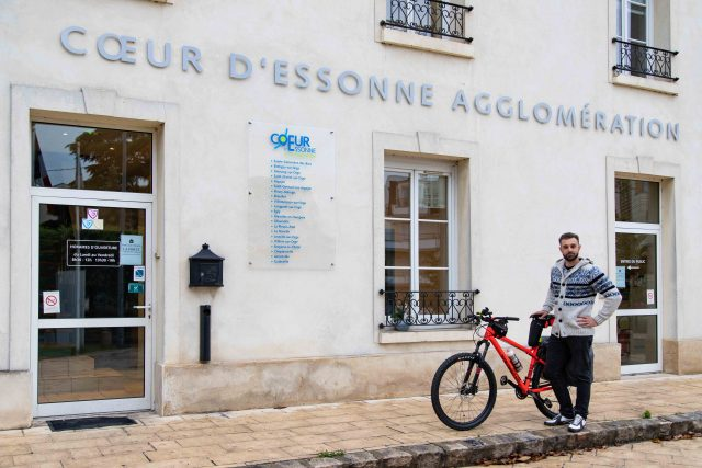 Nicolas Bourion Cycling For Earth vélo France alternatives planète