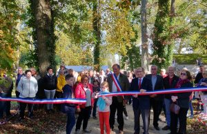 inauguration parc Billard Le Val Saint Germain Serge Desmurs Essonne