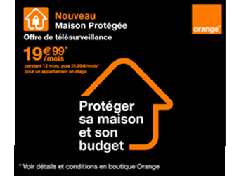 Orange maison protégée 10/10/19