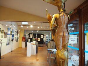 sculpture salon des arts éco-musée saint-chéron