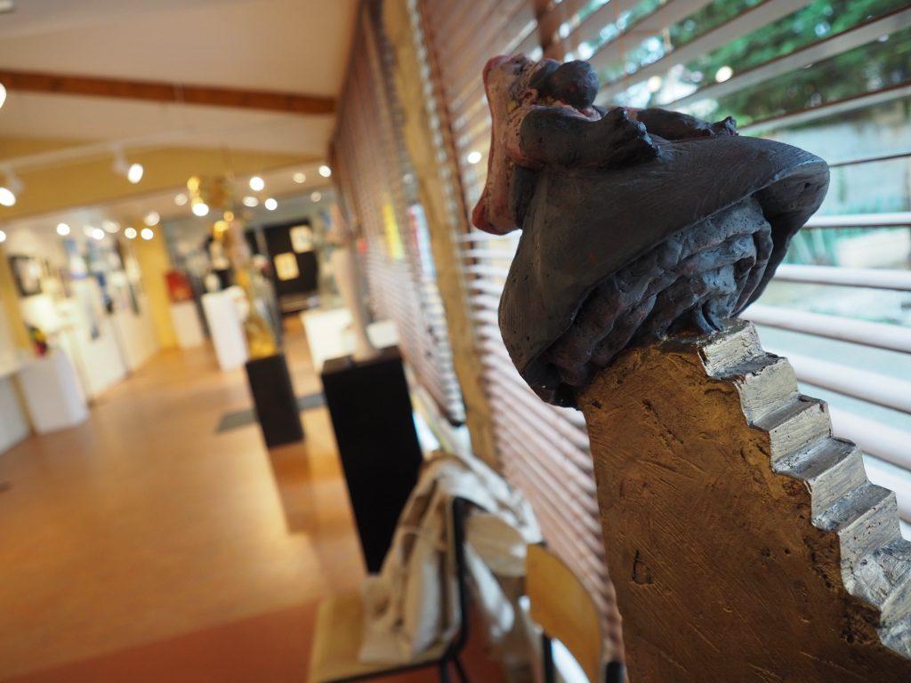 mini diva sculpture salon des arts saint-chéron éco musée
