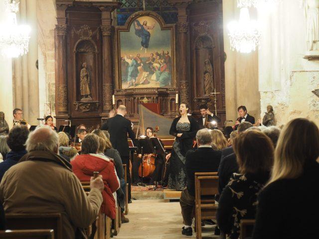 Opéra italien Palais Royal église de Saclas partenariat Essonne