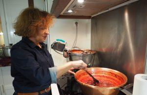 la corbeille à confitures Brigitte Le Pelletier Evry artisanal terroir Essonne