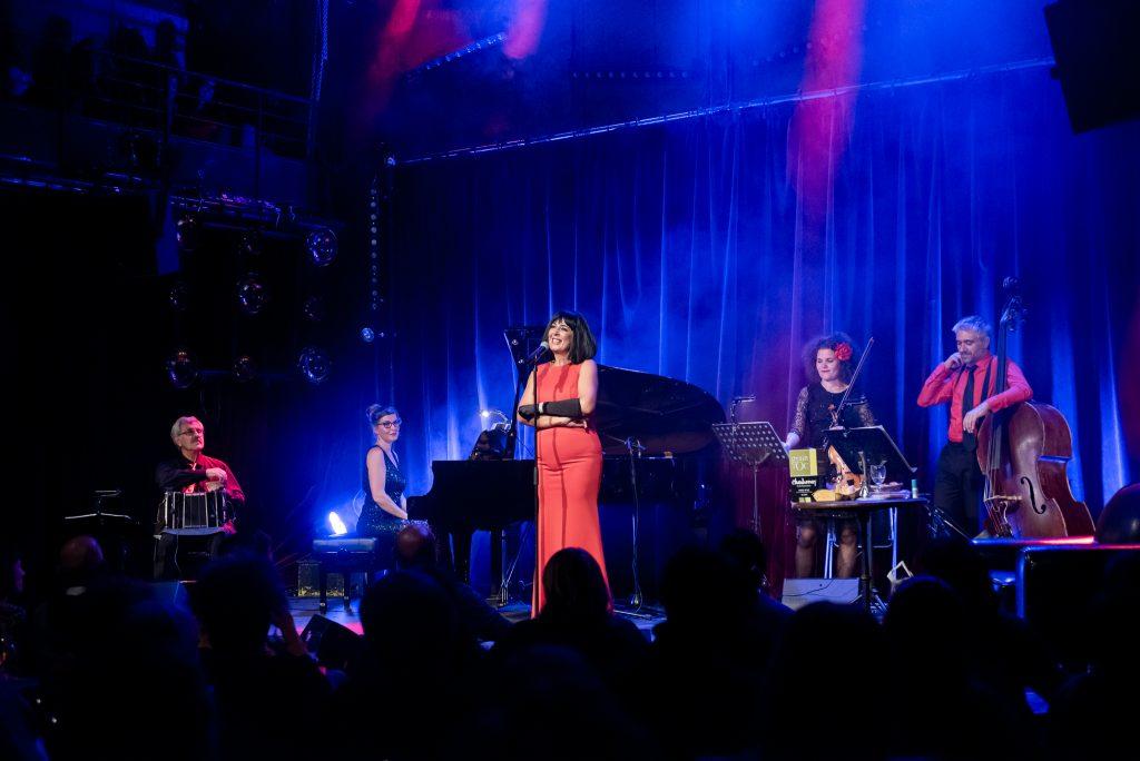 Maria Dolores et Amapola Quartet sur scène© Sylvain Gripoix