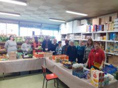 Secours populaire association distribution alimentaire Etampes