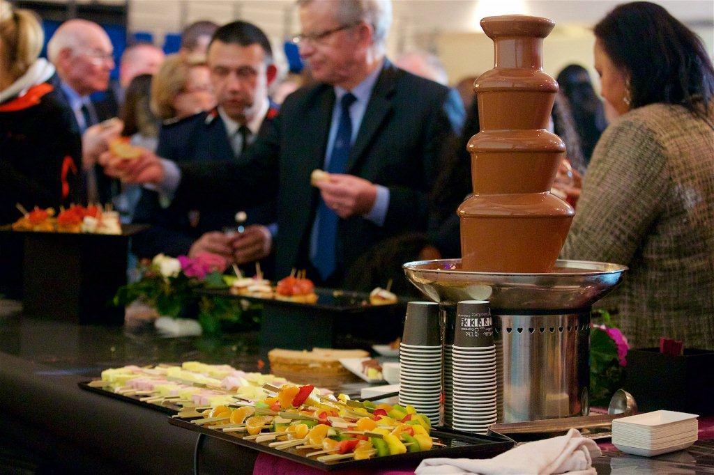 traiteur Hélianthème Les Ulis fondue chocolat fruits