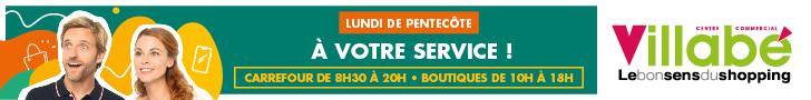 Carrefour Villabé Pentecôte 27/05/2020