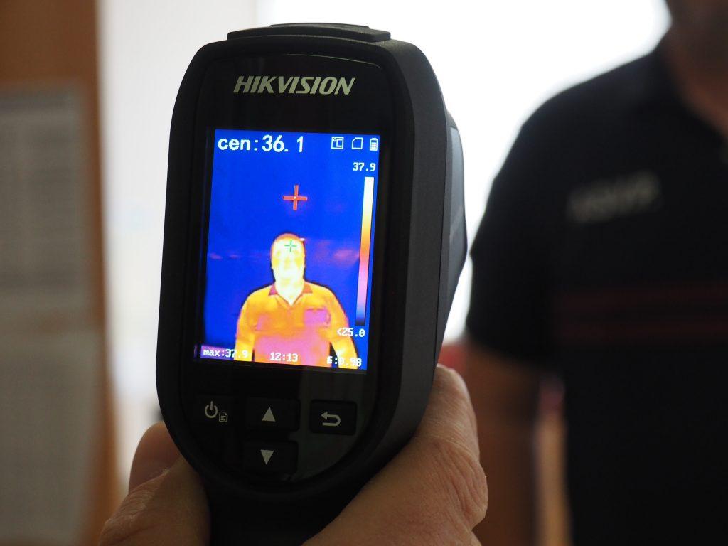 détecteur thermographique température prévention covid-19 police municipale