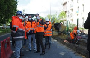 travaux chantier avenue Darblay Mennecy Benoît Kaplan