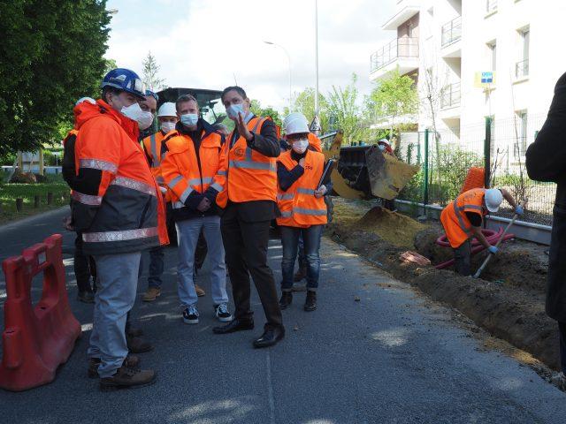 travaux chantier avenue Darblay Mennecy Benoît Kaplan