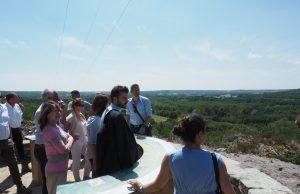 visite presse foret de la barre département etrechy auvers saint georges morigny champigny