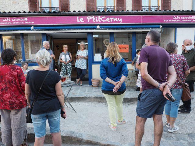 exposition Ptit Cerny café associatif