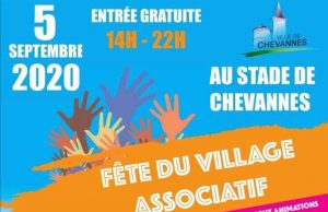 fête village associatif chevannes 5 septembre 2020