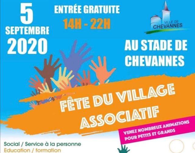 fête village associatif chevannes 5 septembre 2020