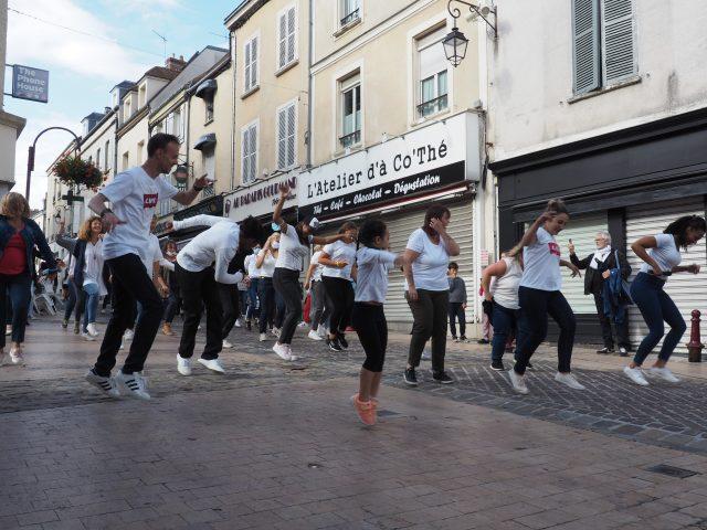flash-mob dourdan espoir 91