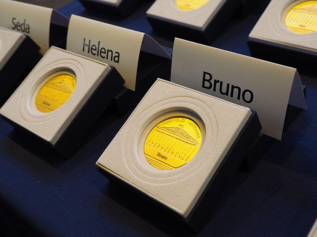 médaille Assemblée nationale permis citoyen forum des associations 2020 Etampes