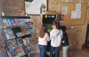 borne arcade médiathèque
