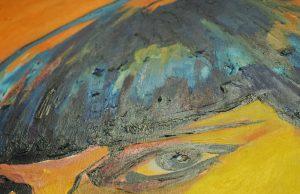 peinture huile femme Laurence Fossati Conception féminine