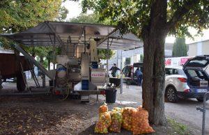 pressi-mobile presser pommes Gatinais