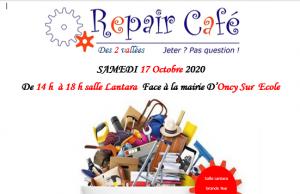 Repair'café d'Oncy-sur-Ecole