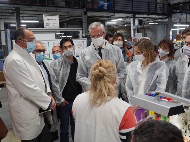 senior aerospace calorstat dourdan visite ministres plan de relance