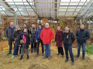 Actualités - A Gometz-la-Ville, les serres de Beaudreville reprennent vie grâce à un projet de tiers-lieu agricole