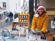 Rebecca Baues pâtisserie IG bas vegan sans gluten marché de Noël Dourdan