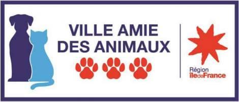 label ville amie des animaux Mennecy