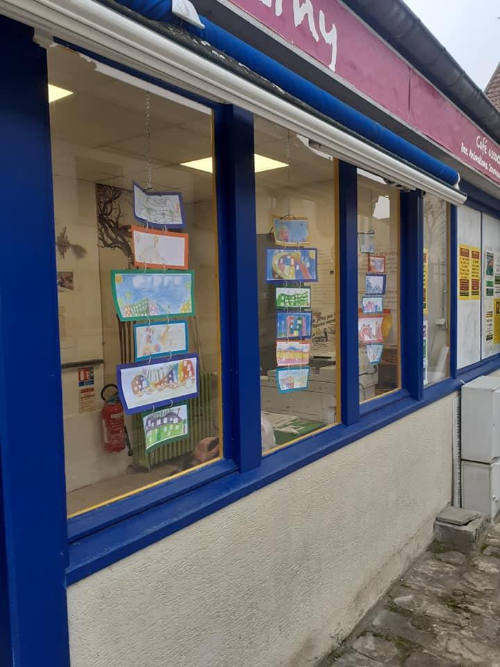 Actualités - 2021 Essonne : les enfants exposent au P'tit Cerny