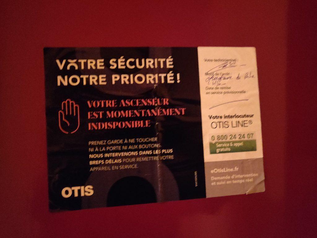 Actualités - 2021 Essonne : Des résidents du quartier de Guinette à Etampes sans ascenseur depuis un mois