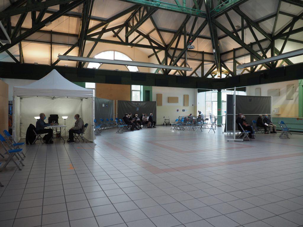 Actualités - 2021 Essonne : le centre de vaccination de Mennecy a ouvert le 1er mars