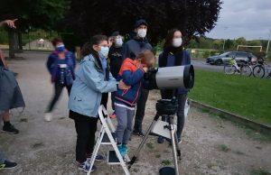 portes ouvertes club astronomie Breuillet nuit télescope
