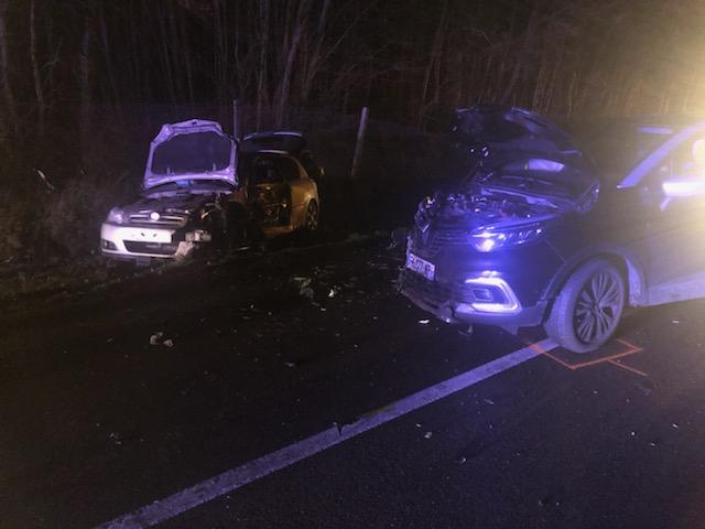 accident route départementale rd74 chevannes auvernaux essonne