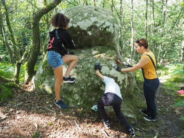 mercredis grimpe escalade chantier participatif Etréchy